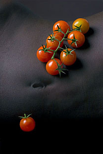 Cherry Tomatoes Food & Model Photography